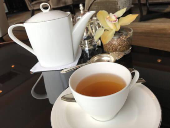 シャングリ・ラ ホテル東京のホライゾンクラブラウンジの紅茶