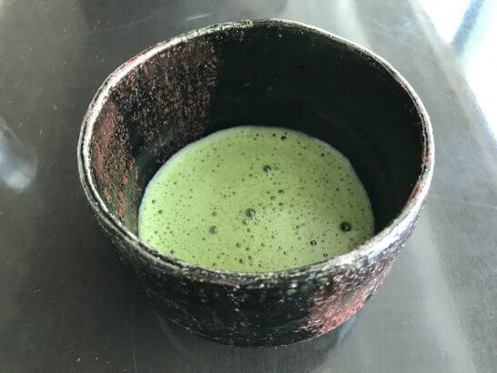 コンラッド東京の風花の抹茶