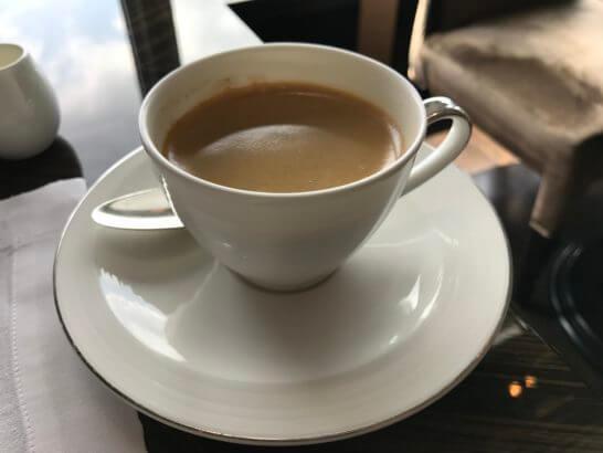 ホライゾンクラブラウンジの朝食 (コーヒー)