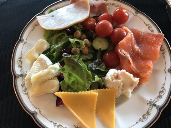 横浜グランドインターコンチネンタルホテルの朝食(サラダ類)