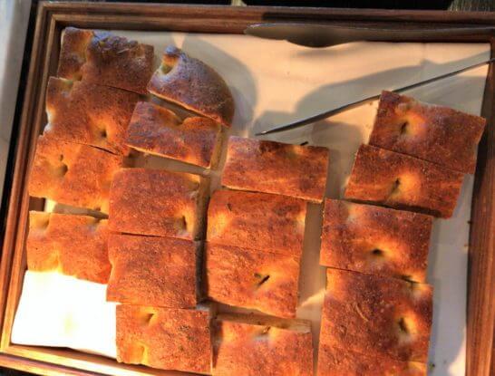 シャングリ・ラ ホテル東京のホライゾンクラブラウンジのパン類