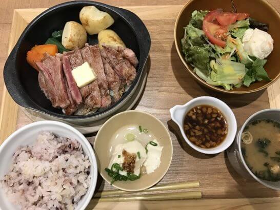 和ごはんとカフェ chawanの食事