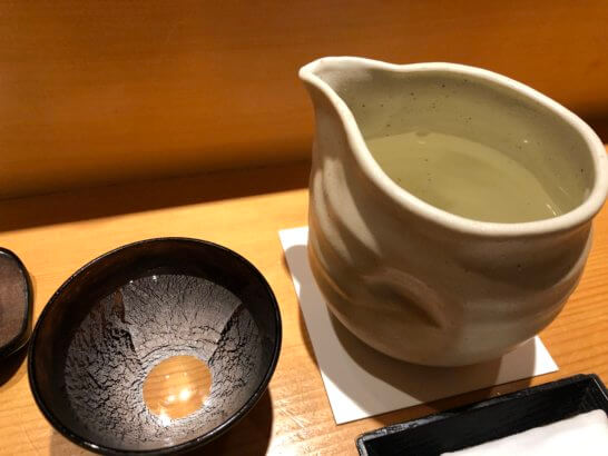 鮨さいとうの日本酒