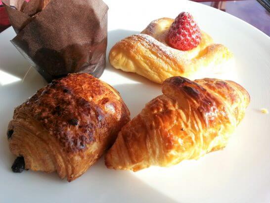 ヒルトン小田原の朝食のパン