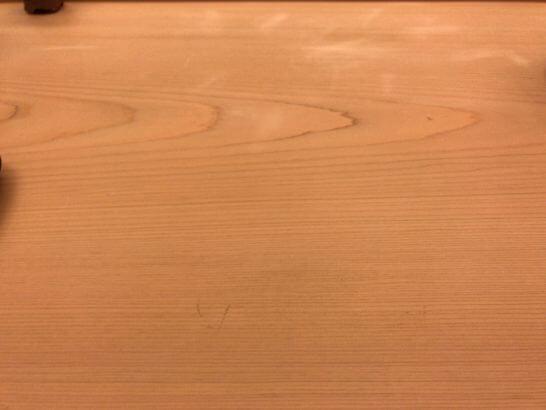 銀座小十の木材