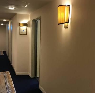 帝国ホテル東京のアメックスのビジネスラウンジの入り口