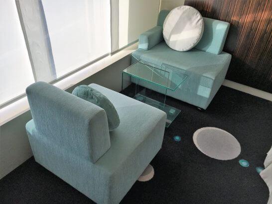 ヒルトン東京ベイのソファー