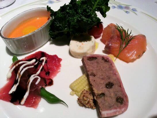 観音崎京急ホテルの前菜