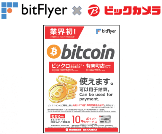 bitFlyerとビックカメラの提携