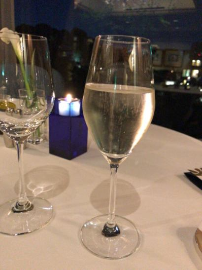 椿山荘のイル・テアトロのシャンパン