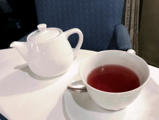 椿山荘のイル・テアトロの紅茶