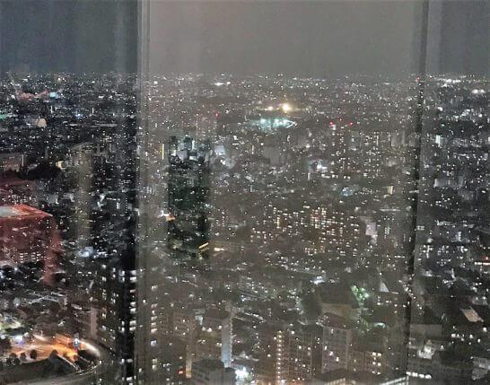 新宿野村ビルの夜景 (2)
