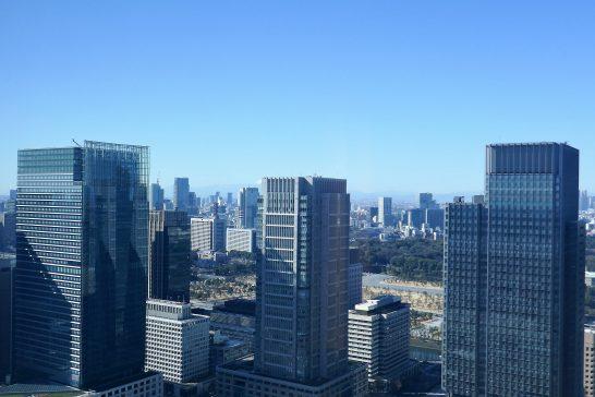 シャングリラホテル東京の景色