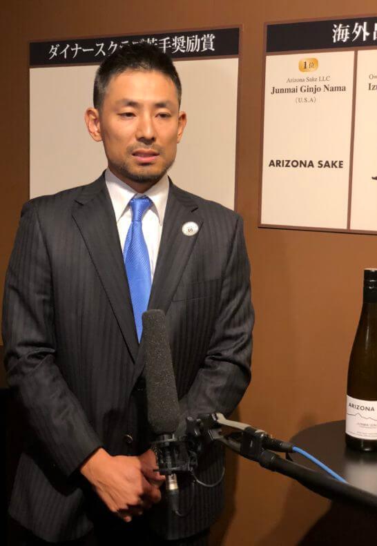 海外出品酒部門1位の代表者