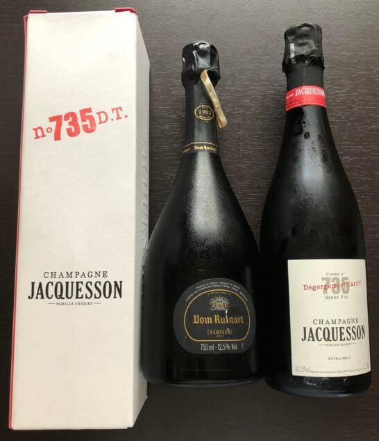 フィラディスのTHE CHAMPAGNで買ったシャンパン