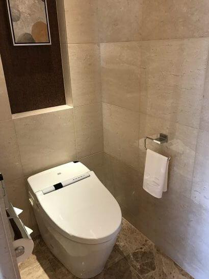 シャングリラホテル東京のトイレ