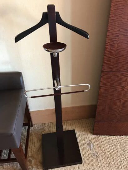シャングリラホテル東京の小物置き
