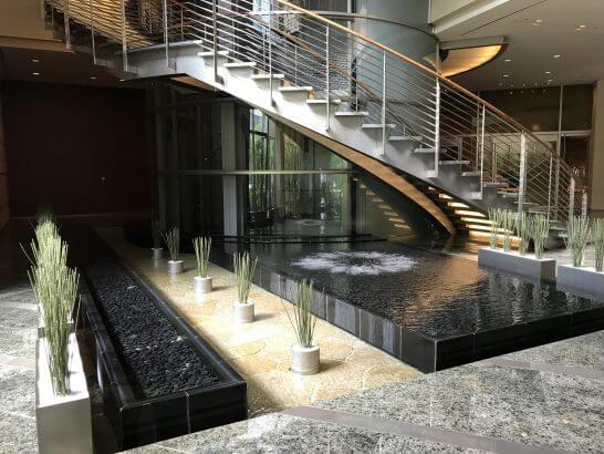 グランドハイアット東京の階段