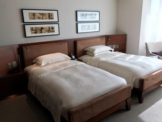 グランドハイアット東京のベッド
