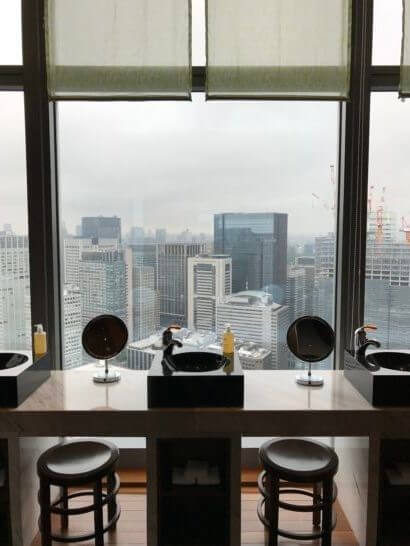 ザ・スパ・アット・マンダリン・オリエンタル・東京の更衣室