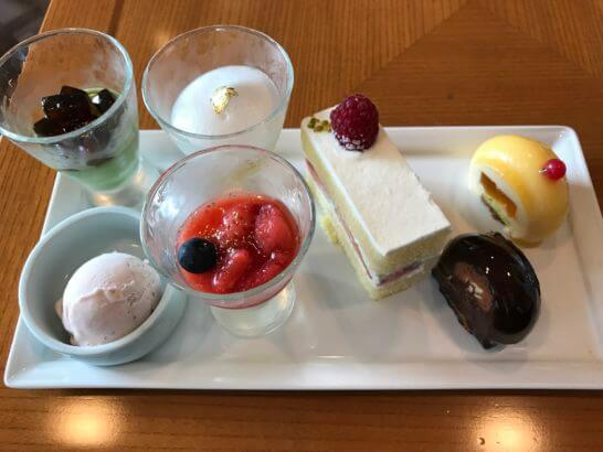 帝国ホテル東京の嘉門のデザート