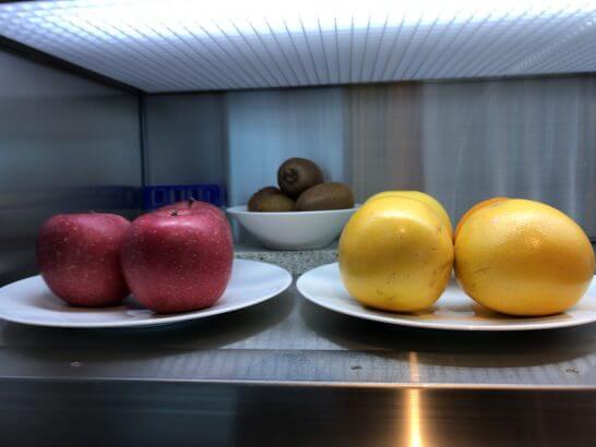 ザ・プリンスギャラリー 東京紀尾井町のクラブラウンジのフルーツ