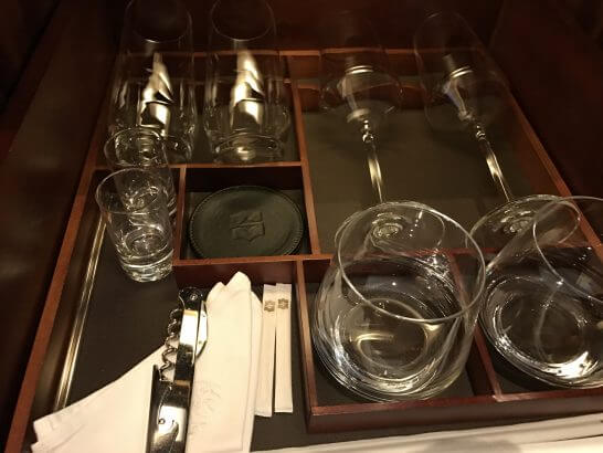 シャングリラホテル東京の食器類