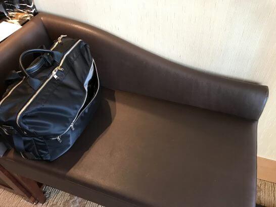 シャングリラホテル東京の荷物置き場