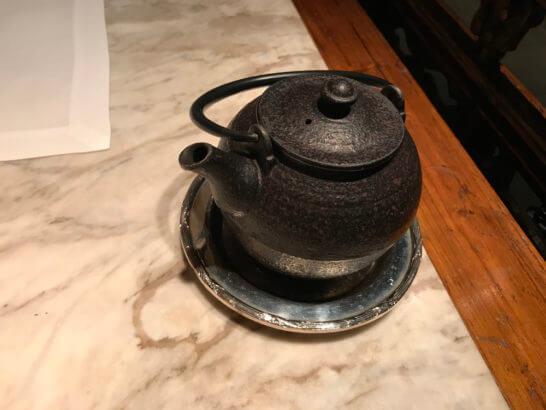 ザ・ペニンシュラ東京のヘイフンテラスの中国茶 (2)