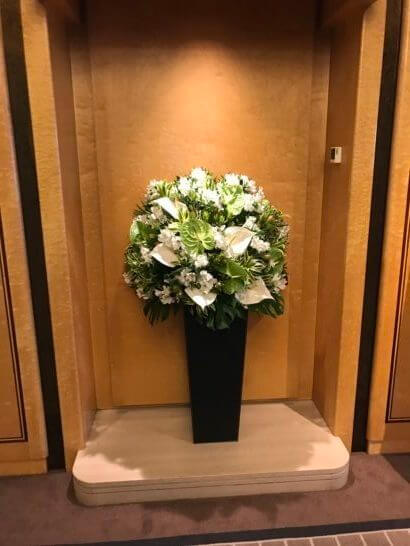 帝国ホテル東京本館レストランフロア