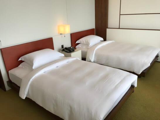 アンダーズ東京のベッド