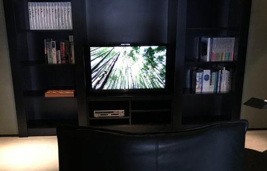 テレビとブルーレイ
