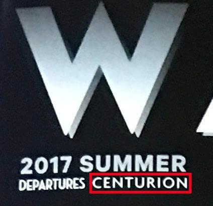 DEPARTURESの付録冊子「WATCHES」の「CENTURION」という文字