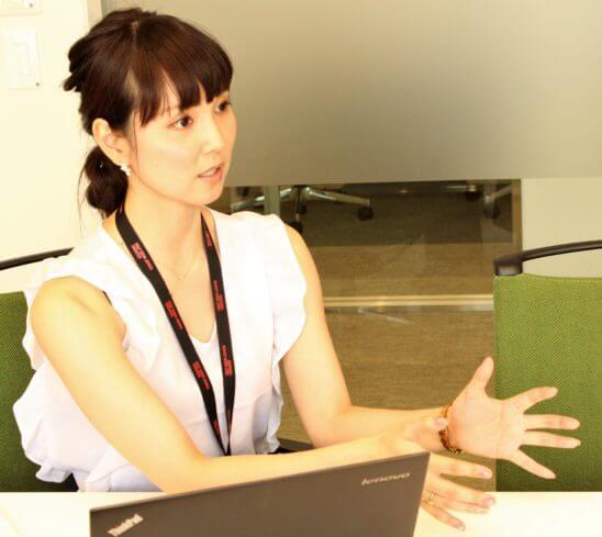マネックスグループ 広報の松崎裕美さん