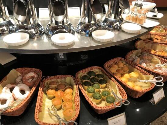ANAインターコンチネンタルホテル東京の朝食のパン類