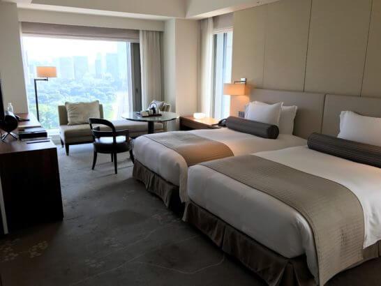パレスホテル東京のグランドデラックスツイン