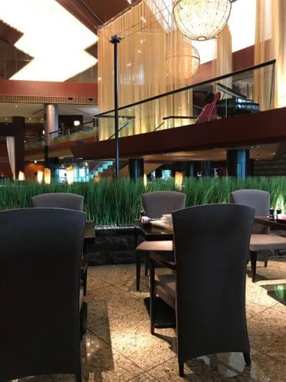 ANAインターコンチネンタルホテル東京のカスケイドカフェ