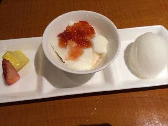 伊勢丹の中華料理 (デザート)