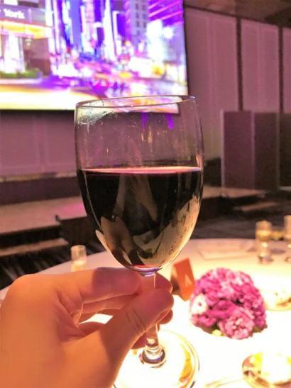 SPGガラディナーの赤ワイン