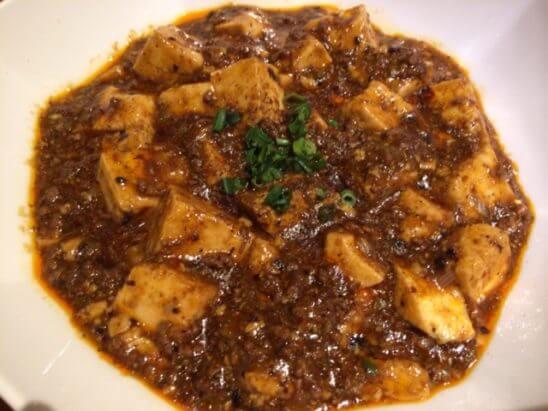 伊勢丹の中華料理 (麻婆豆腐)