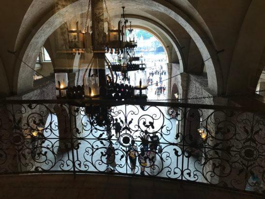 ホテル・ミラコスタの窓からのディズニーシー