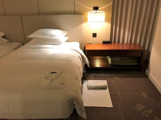 パレスホテル東京のターンダウン