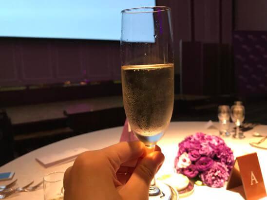 SPGの11ホテルブランドを体感できるラグジュアリーなガラディナーの乾杯