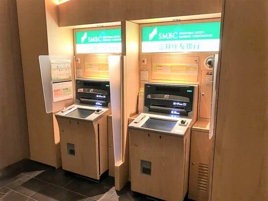 三井住友銀行のATM