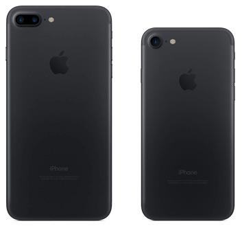 iPhone 7、7 Plusのブラック