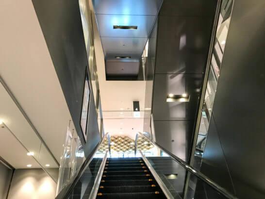 東急プラザ銀座店のエレベーター