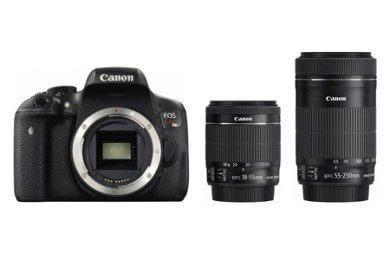 一眼デジタルカメラ EOS KISS X8i ダブルキット