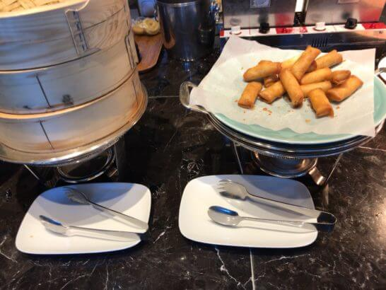 東京マリオットホテルの朝食の点心