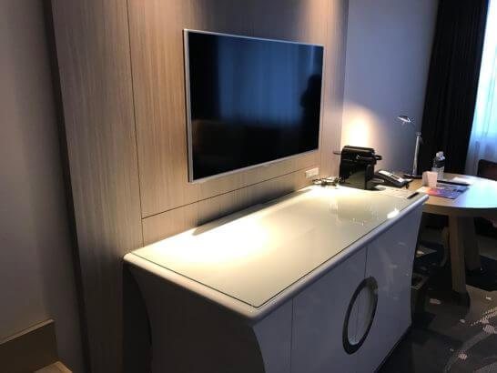 東京マリオットホテルのテレビ