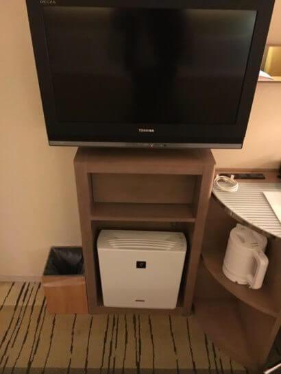 吉祥寺第一ホテルのテレビ